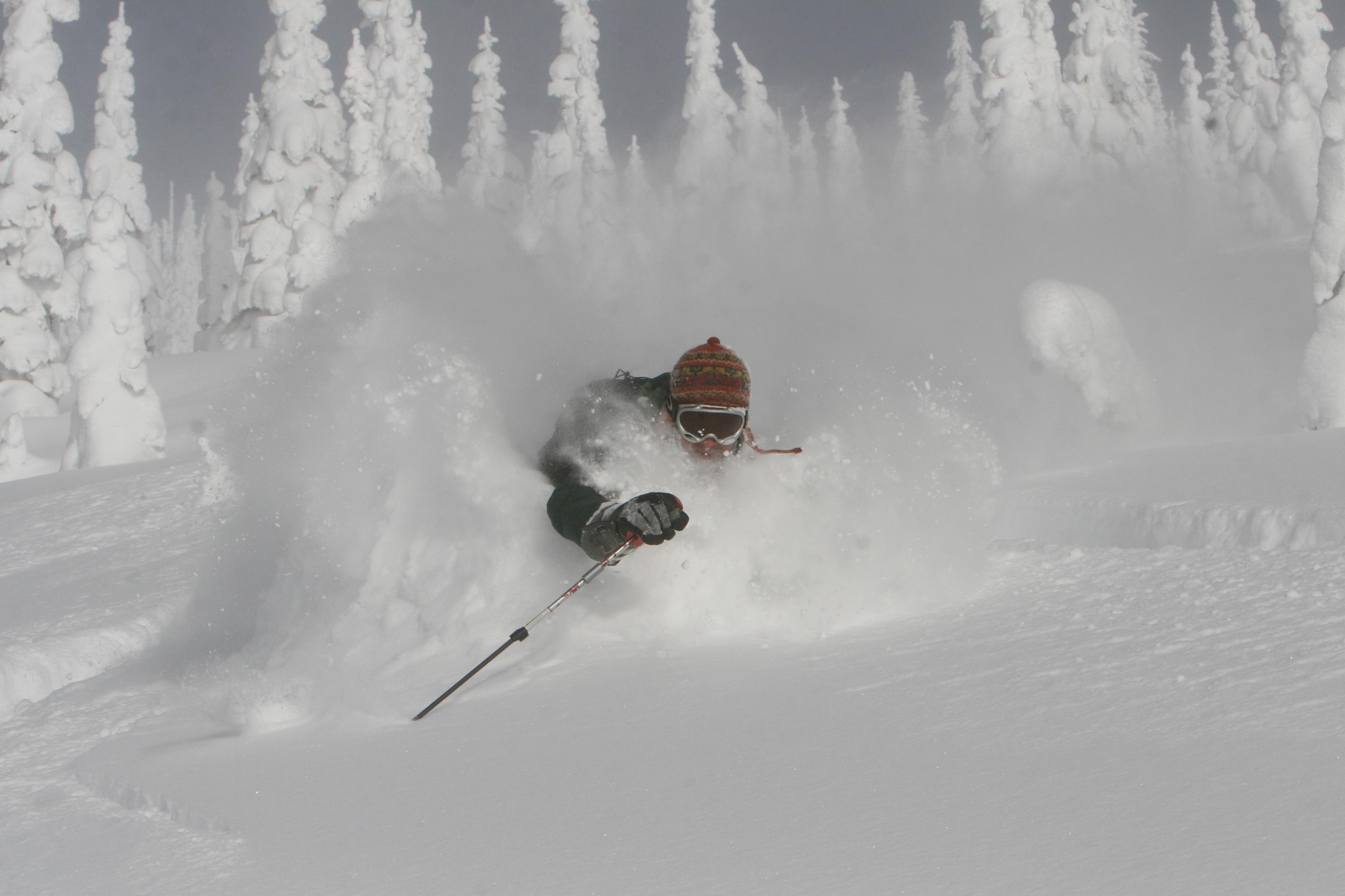 heli-skiing Canada la nina, deep heliskiing powder