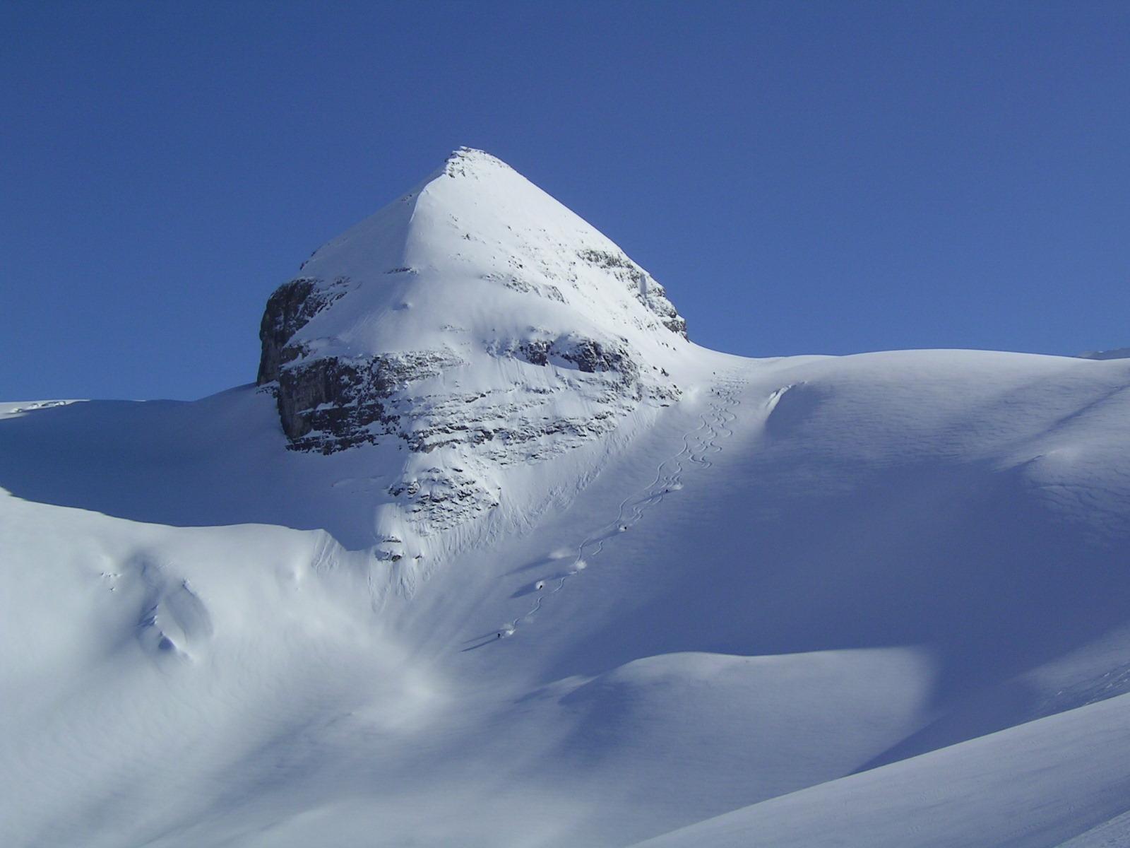 Heliskiing British Columbia Canada in March