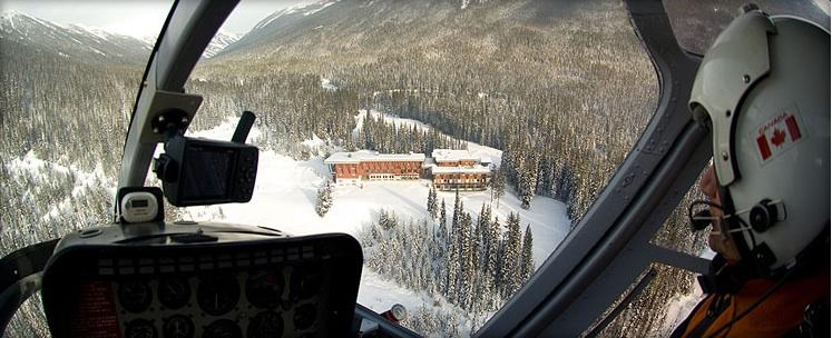 Heli-skiing Bugaboos CMH